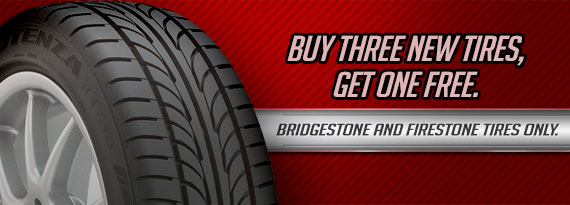 Tim Dodge Firestone Promotions Buy 3 Get 1 Free